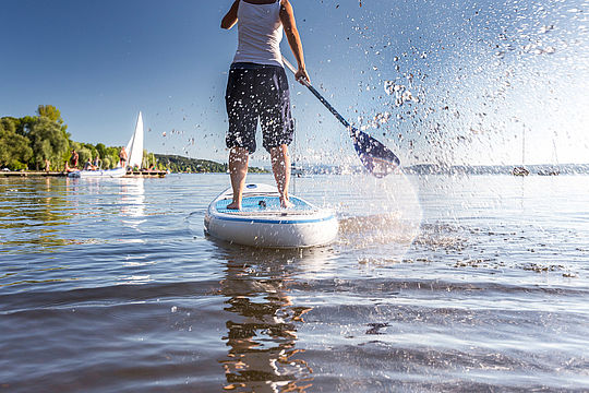 Stand Up Paddling: Standfest bleiben!