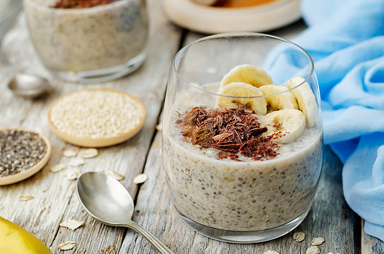 Sommerliche Overnight-Oats